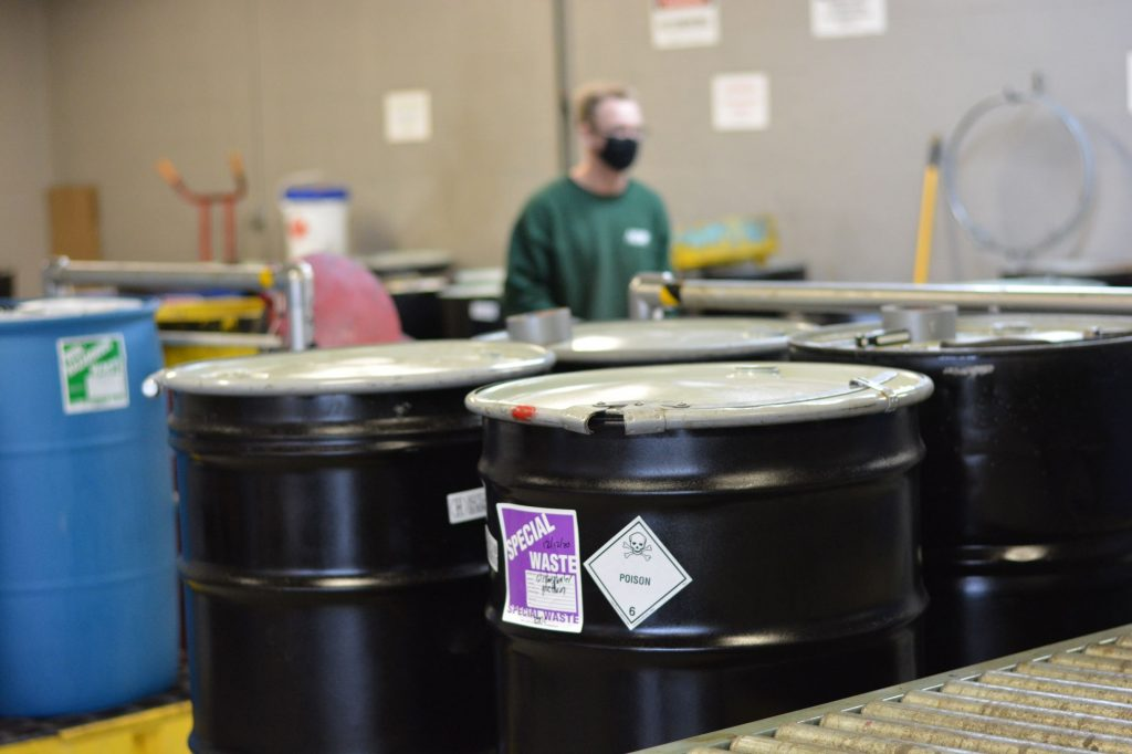 What Do I Do with Hazardous Waste Generated from a Home Business?