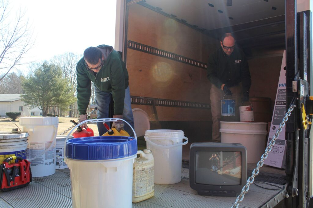 Dealing with Household Hazardous Waste During an Estate Sale