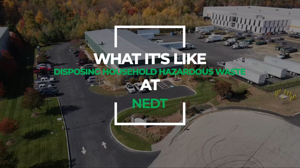 What to Expect: NEDT Household Hazardous Products Collection Centers